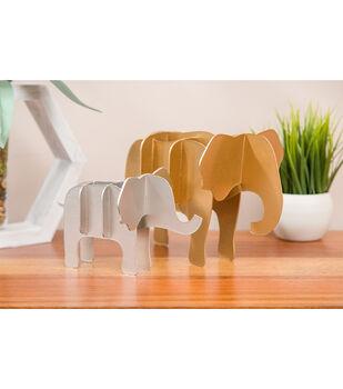 How To Make Cricut 3D Elephants