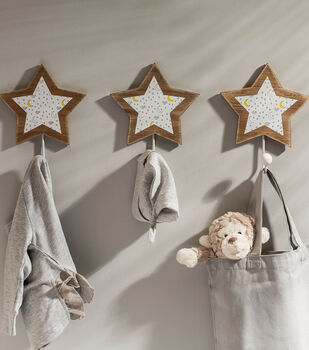 How To Make a Wooden Star Hooks