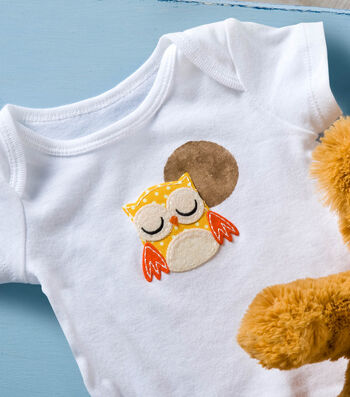 How To Make a Baby Onesie with Owl