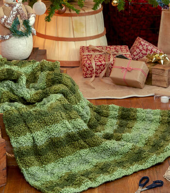 How To Make A Serenity Ombre Woodland Blanket