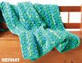 Bright And Easy Crochet Blanket