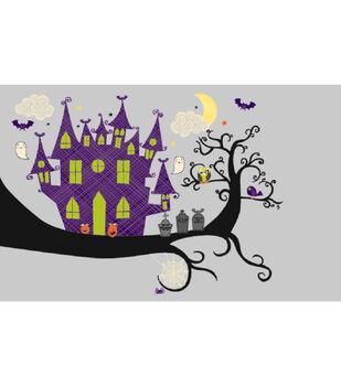 Spooky House Printable