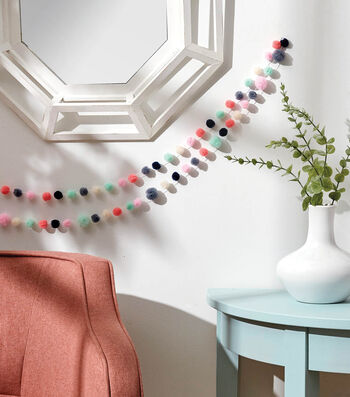 How To Make Pom Pom Garlands