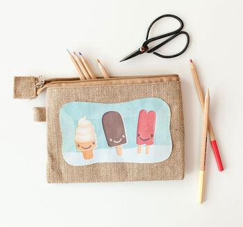 Idea Market Printable Fabric Ice Cream Bag