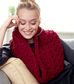 How To Make A Loop Cable Cowl Scarf