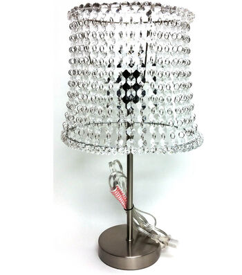 Crystal Beaded Lamp and Jewelry