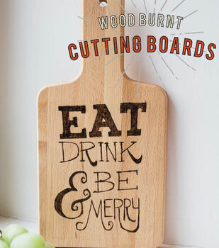 Wood Burn Cutting Board