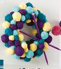 Wreath of Yarn Balls