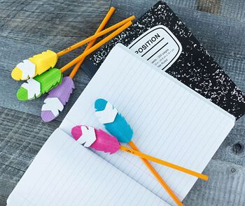 Feather Pencil Topper