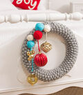 Be Merry Knit Wreath