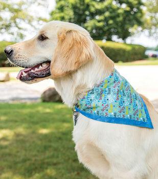 How To Make a Dog Cotton Bandana