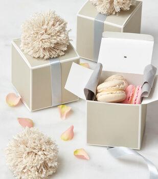 How To Make Pom Pom Treat Boxes
