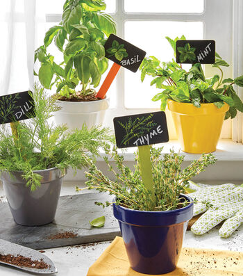 How To Make A Garden Herb Plant Stakes