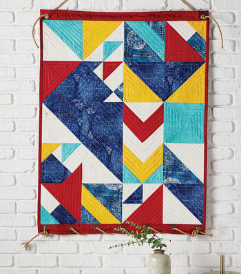 How To Make A Seaside Wall Hanging Quilt
