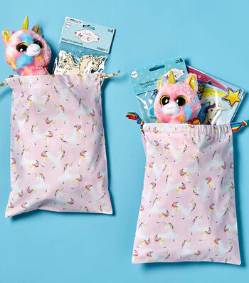 Make Unicorn Drawstring Bag