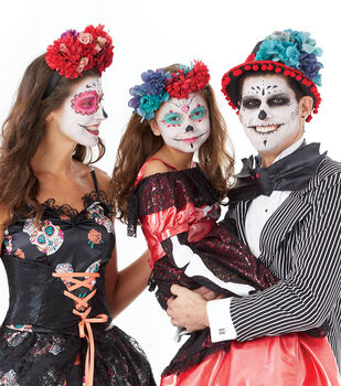 How To Make Day of the Dead Headpieces