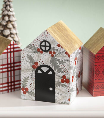 How To Make a Holiday Village Project