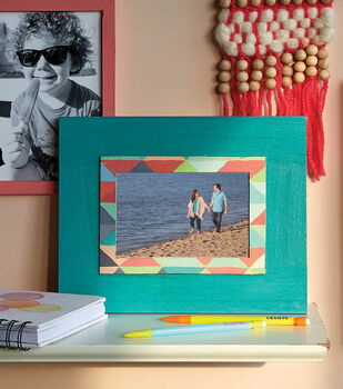 How To Make A Painted Picture Frame