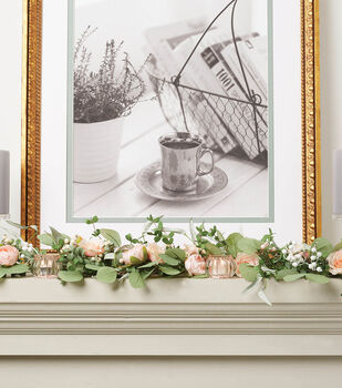 How To Make a Floral Picks Garland