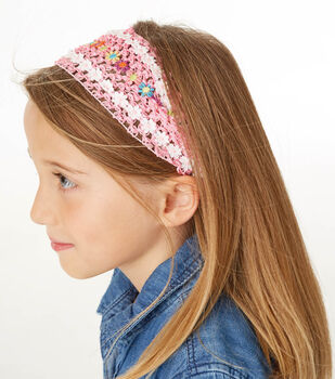 How To Sew A Elastic Headband With Trim