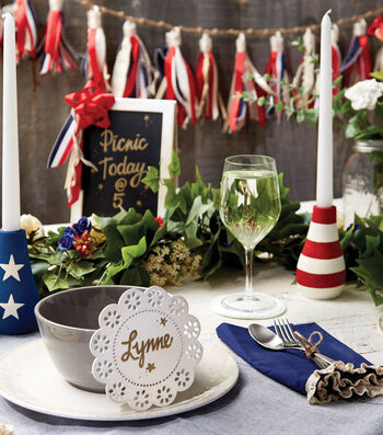 How To Make A Tablescape For The 4th Of July