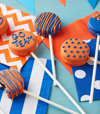 How To Make School Spirit Cookie Pops