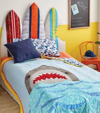 How To Make a Shark Quilt