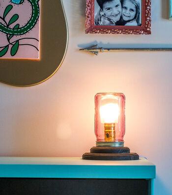 Idea Market Mason Jar Lamp