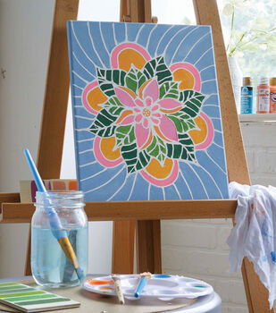How To Make A Paint Resist Canvas