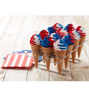 How To Make Patriotic Ice Cream Cones