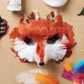 How To Make A Fox Feather Mask