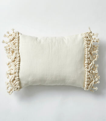 How To Make a Macrame Pillow