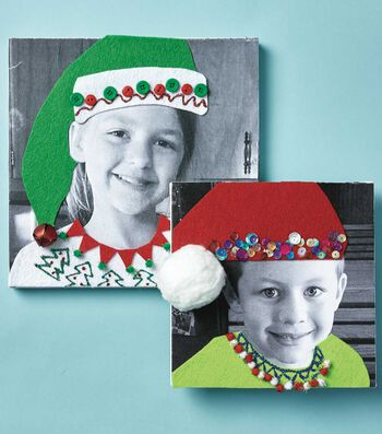 How To Make A Christmas Sweater Portrait