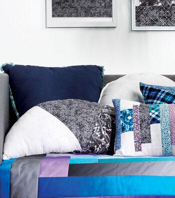 How To Make a Pieced Half Circle Pillow