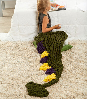 How To Make An Arm Knit Dragon's Tail