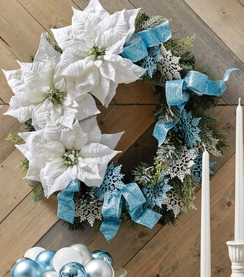 How To Make A Snowflake Wreath