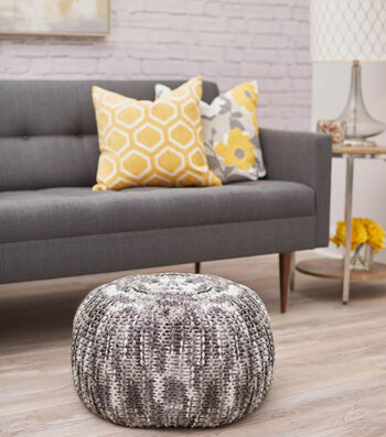 Learn to Craft a Pouf with Pizazz