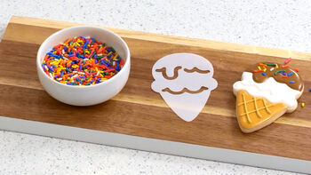 Sweet Sugarbelle Ice Cream Cookie Decorating Video