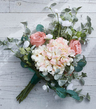 How To Make a Spring Bridal Bouquet