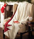 Santa\u0027s Fur Throw