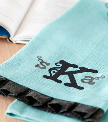 Monogram Kitchen Towel