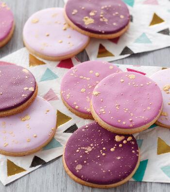 How To Make Paint Splatter Cookies