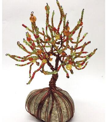 Beaded Autumn Tree
