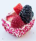 White Chocolate Valentine's Day Treat Cups