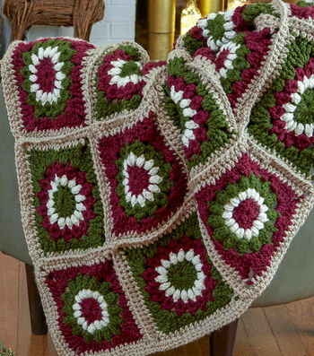 How To Make A Serenity Chunky Crochet Motif Throw