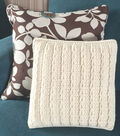 Crocheted Loop Pillow