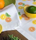 How To Make  Summer Citrus Linens