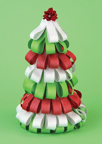 Offray Grosgrain Glitz Ribbon Tree