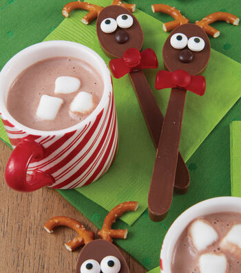 How To Make Rockin' Reindeer Candy Melts Candy Spoons