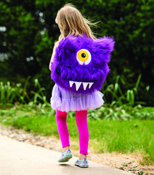 How To Make A Fur Monster Backpack
